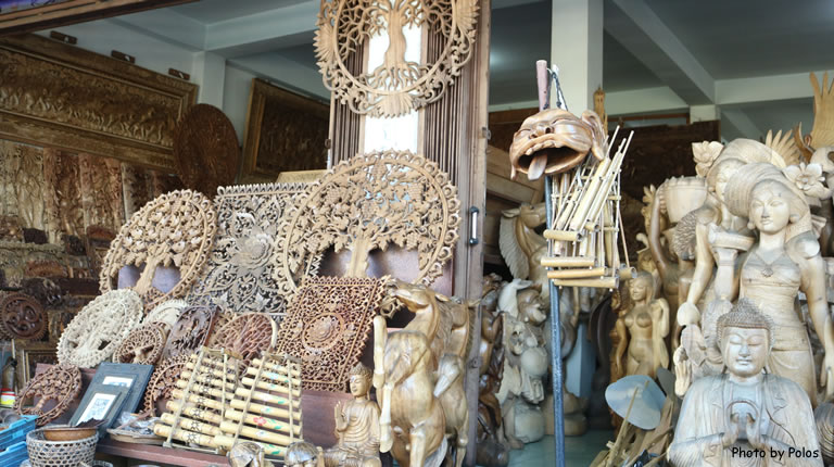 Wood Carving Stall